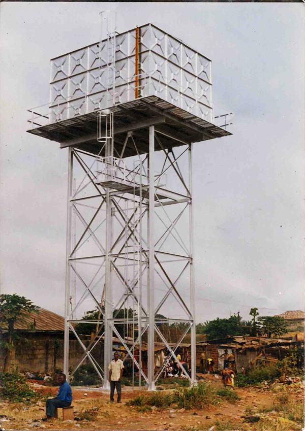 Water Tank Elevated Watertank Steel Structure Water Tank